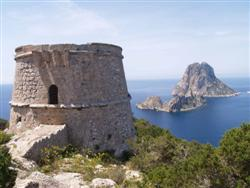 Es Vedra view from Torre d'Es Savinar